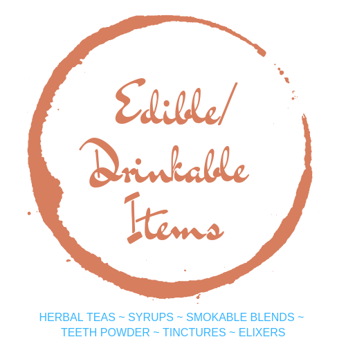 Edible/Drinkable Items