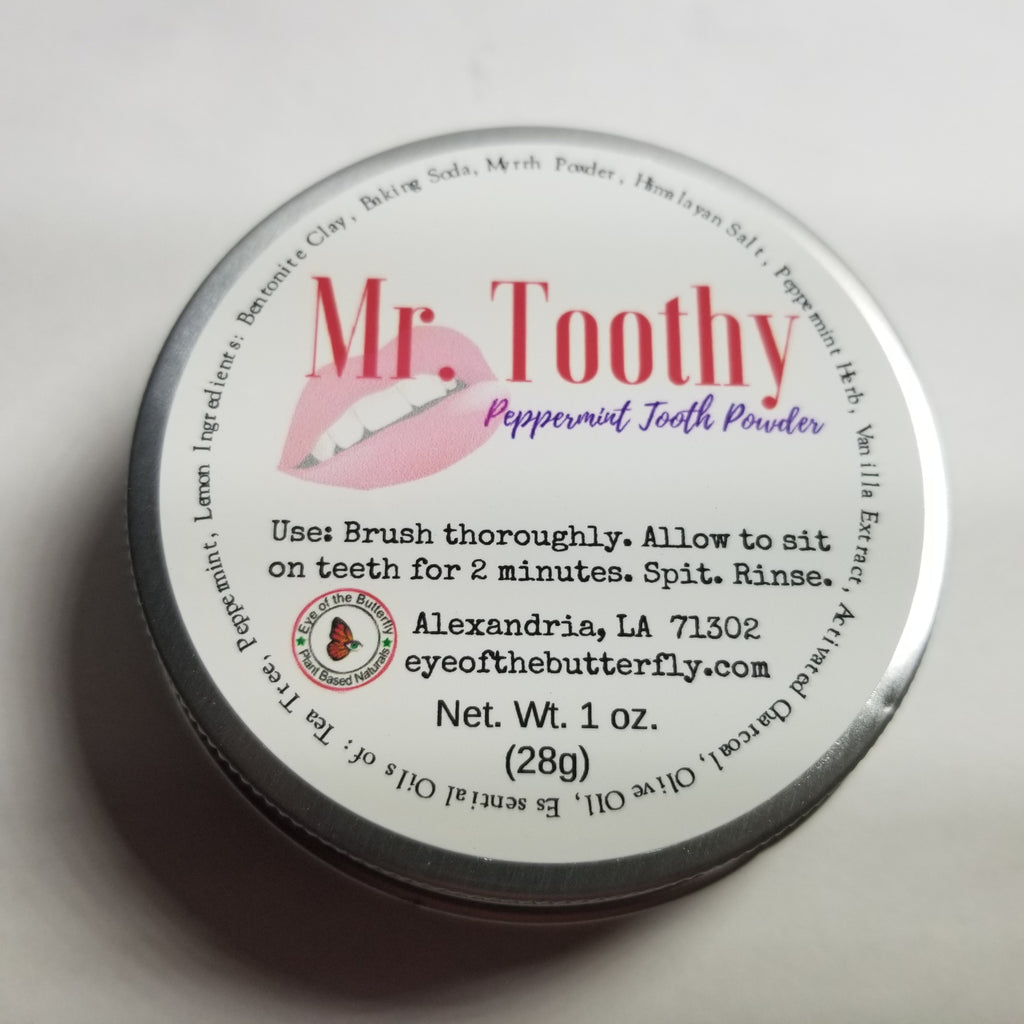 Mr. Toothy Tooth Powder
