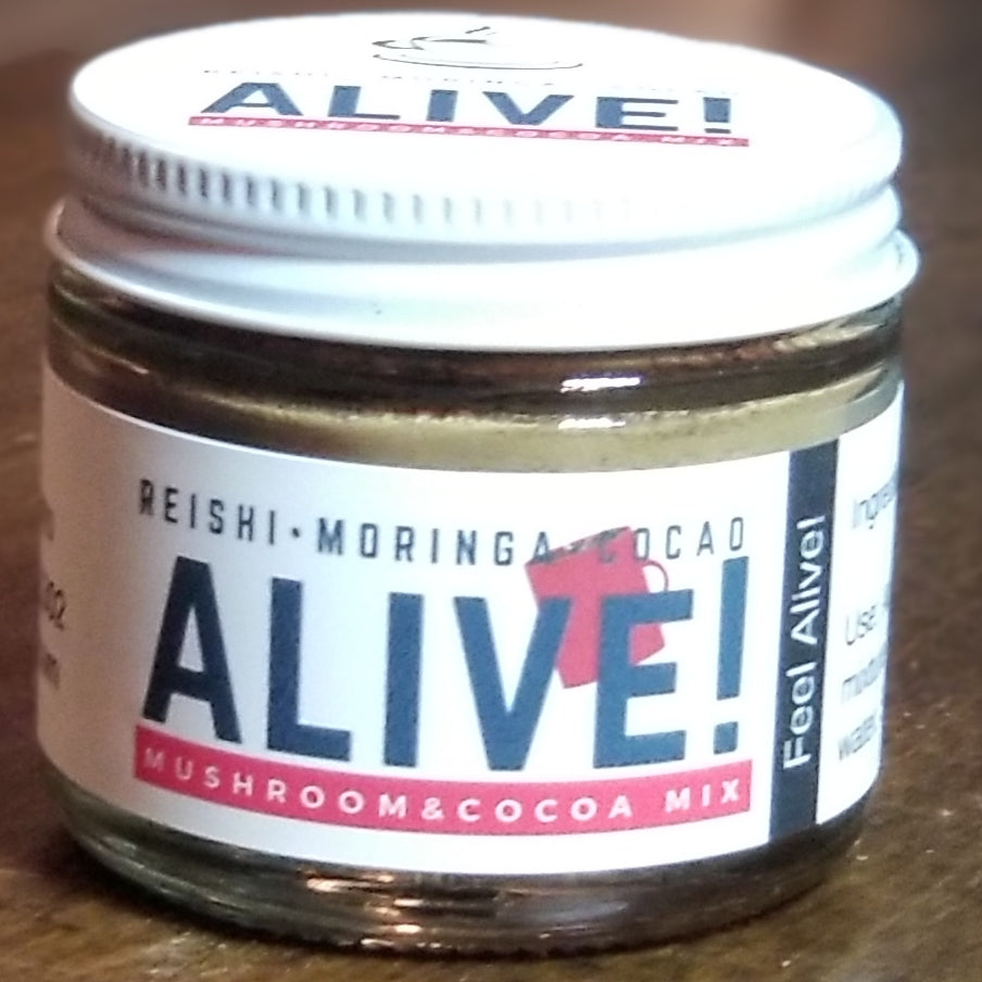 Alive! an Adaptogenic Superfood Hot Cocoa