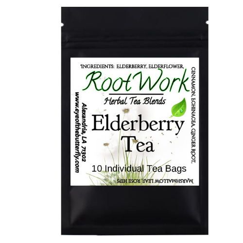 Root Work - Elderberry - Herbal Tea