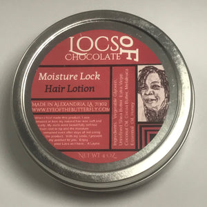 Locs of Chocolate Moisture Loc Lotion