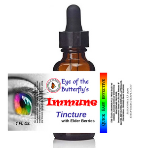 immune tincture eye of the butterfly covid-19 build immune system elderberry