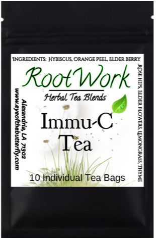 Root Work - Immu-C Vitamin C - Herbal Tea