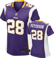 ... Nike Minnesota Vikings ADRIAN PETERSON  28 Youth Girls NFL Game Jersey  ... c4a9649d0