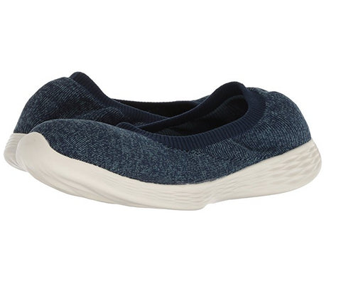 You By Skechers Women's You Define Excellence Walking Slip On Sneaker