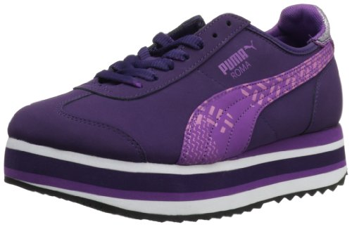 PUMA Roma Slim Stacked Camo Women's Lace-Up Fashion Sneakers Shoes