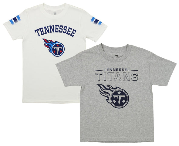 Outerstuff NFL Youth Tennessee Titans Short Sleeve Tee Combo