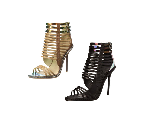 L.A.M.B. By Gwen Stefani Women's Brook Dress Strappy Peep Toe Sandal Heels