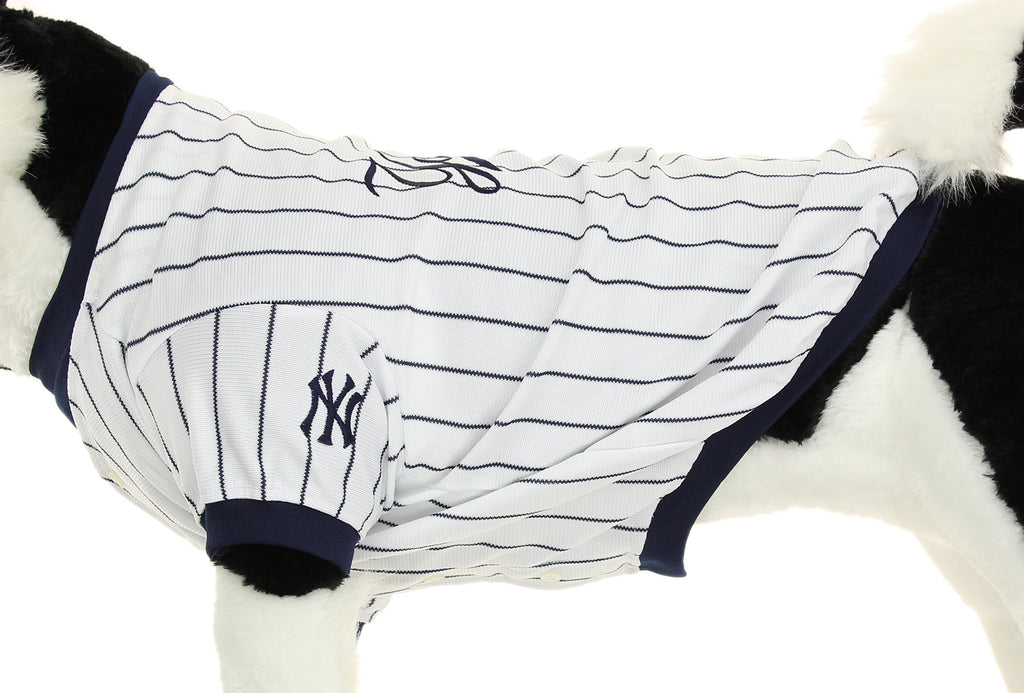 uk availability 0ccff b8161 XX-Small Sporty K9 New York Yankees Baseball Dog Jersey ...