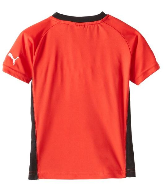Puma Toddlers Coach Set Soccer Jersey Shirt & Shorts Set - Red