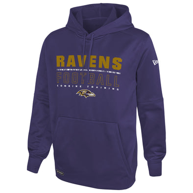 New Era NFL Football Men's Baltimore Ravens Audible Pullover Performance Hoodie