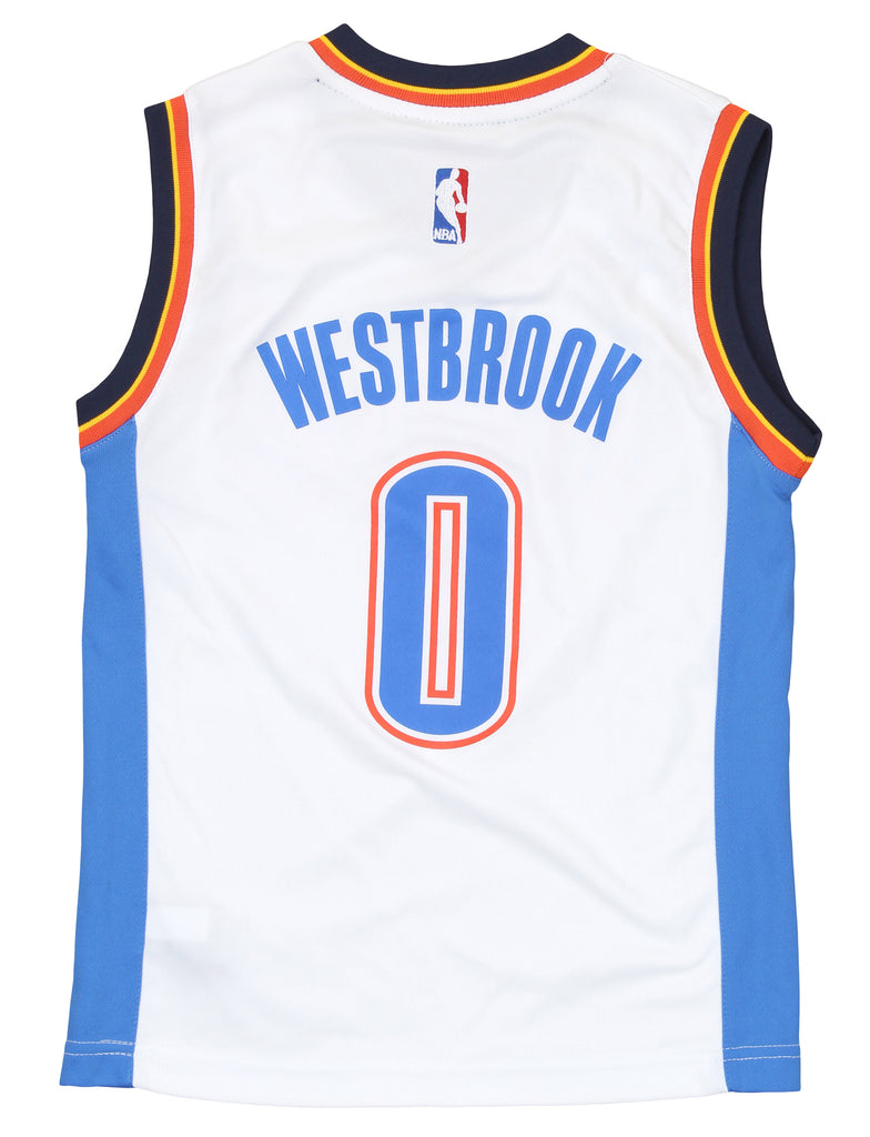 23c6c6d7a Adidas NBA Youth Oklahoma City Thunder Russell Westbrook Replica Home Jersey