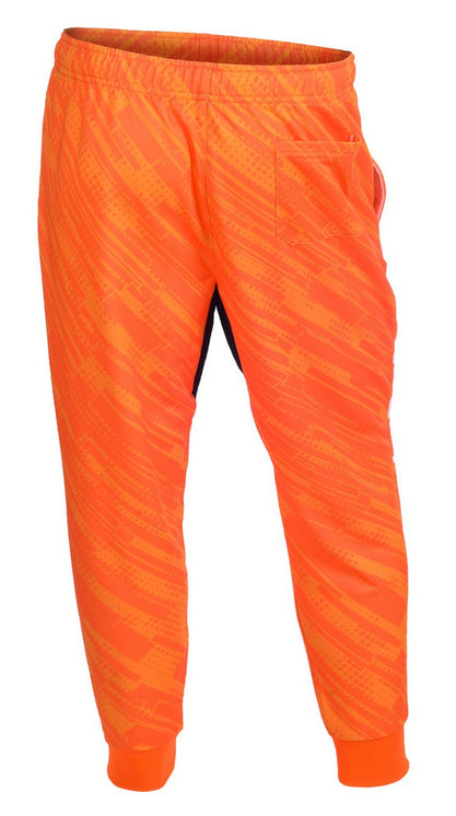 KLEW NFL Men's Cincinnati Bengals Cuffed Jogger Pants, Orange