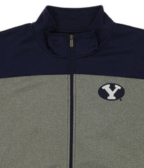Outerstuff NCAA Men's Helix Full Zip Track Jacket, BYU Cougars