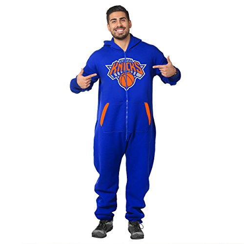 Forever Collectibles NBA Unisex New York Knicks Logo Jumpsuit