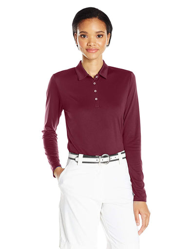Adidas Golf Women's Performance Tournament Long Sleeve Polo Shirt, Color Options