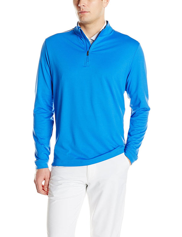 Adidas Golf Men's Adi 3-Stripes Classic 1/4 Zip Jacket, Color Options