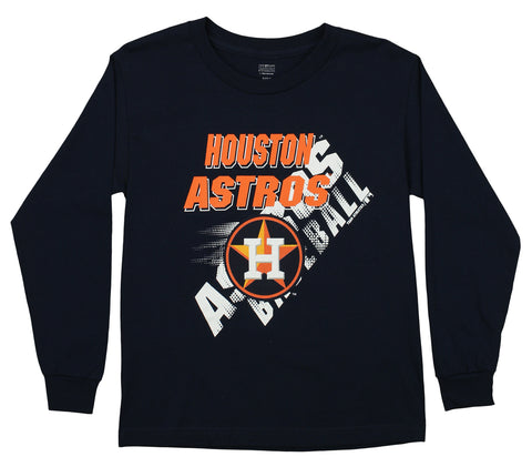 Outerstuff MLB Youth Houston Astros Long Sleeve Baseball Tee
