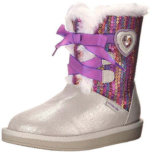 Stride Rite Toddler Disney Frozen Cozy Mid Calf Boot