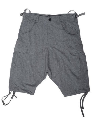 Puma Men's Cargo Combat Shorts - Black Or Gray