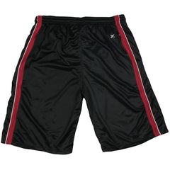 Zipway NBA Men's Big and Tall Miami Heat Mesh Shorts, Black