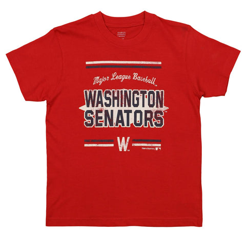 Outerstuff MLB Youth Washington Senators Short Sleeve Major League Baseball Tee