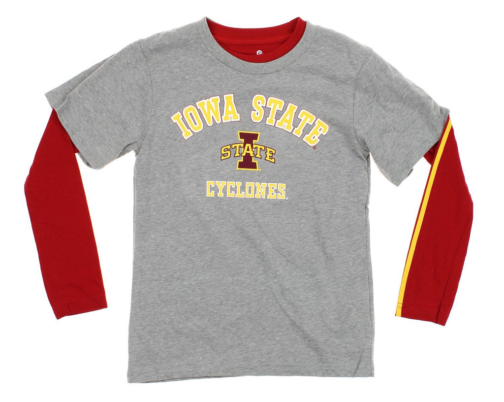 competitive price b938d a781c NCAA Youth Iowa State Cyclones Classic Fade 2 Shirt Combo Pack
