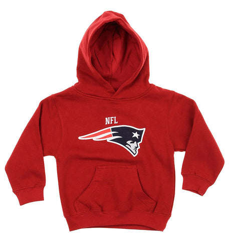 NFL Toddlers New England Patroits Team Logo Pullover Hoodie