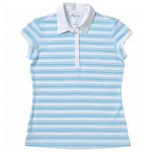 Taylormade Women's ClimaLite Merchandising Golf Stripe Polo, Color Options