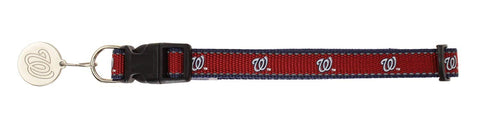 Sporty K9 MLB Washington Capitals Reflective Dog Collar