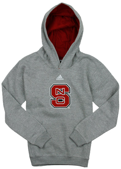 Adidas NCAA Youth North Carolina State Wolfpack Pullover Hoodie Sweatshirt