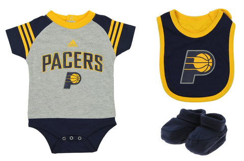 8a6342e122b Adidas NBA Infants Indiana Pacers Little Player Creeper Set, Navy