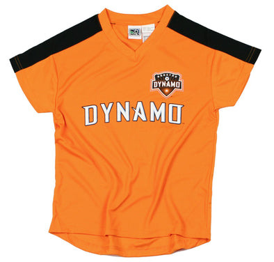 Houston Dynamo MLS Soccer Football Boys Youth Team Jersey Shirt Top, Orange