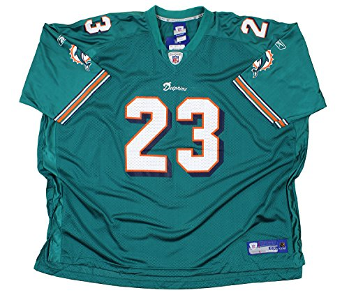 4efcca92c75a0 Reebok NFL Men's Miami Dolphins Ronnie Brown #23 Replica Jersey, ...