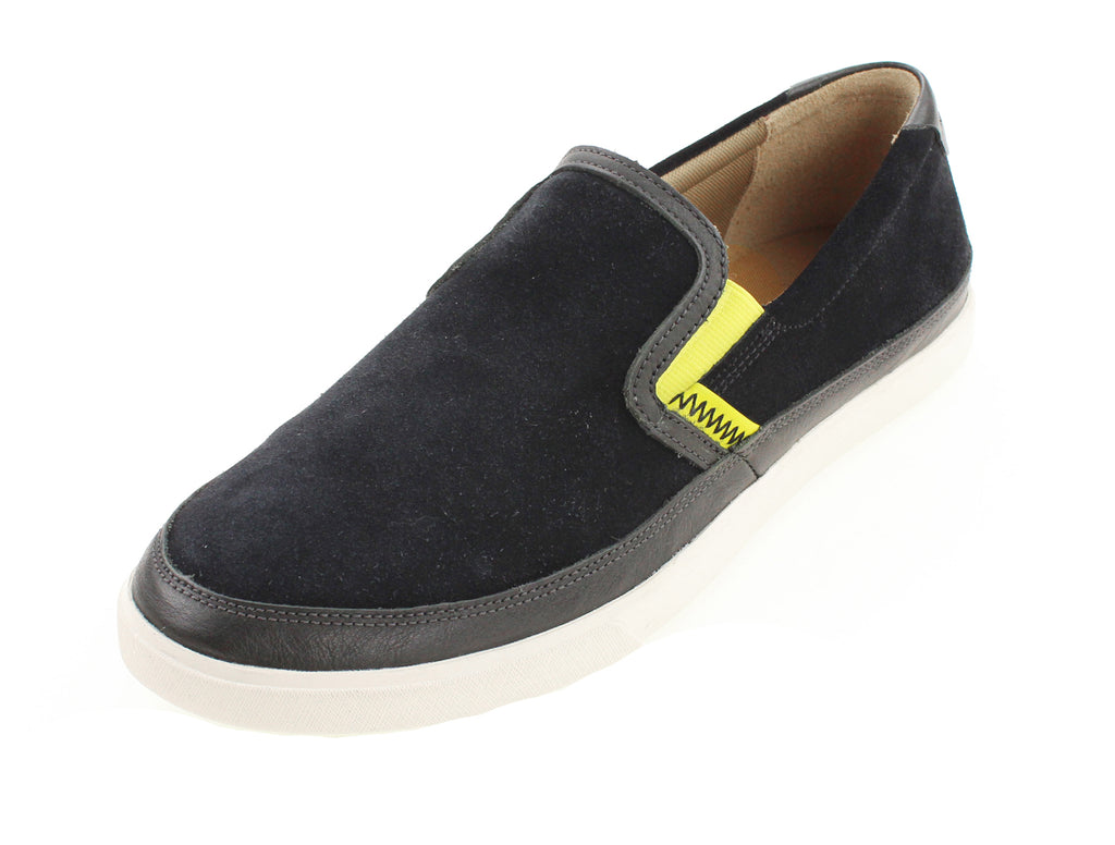 Cole Haan Men's Joshua Slip On II Sneaker Classic Shoes - Denim & Black