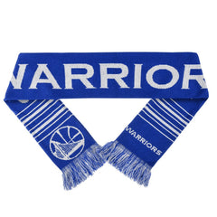 Forever Collectibles NBA Golden State Warriors Acrylic Wordmark Logo Scarf