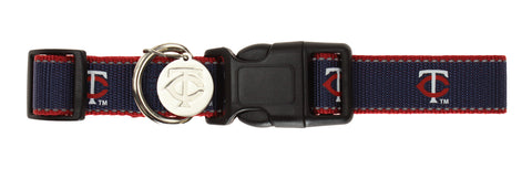 Sporty K9 MLB Minnesota Twins Reflective Dog Collar