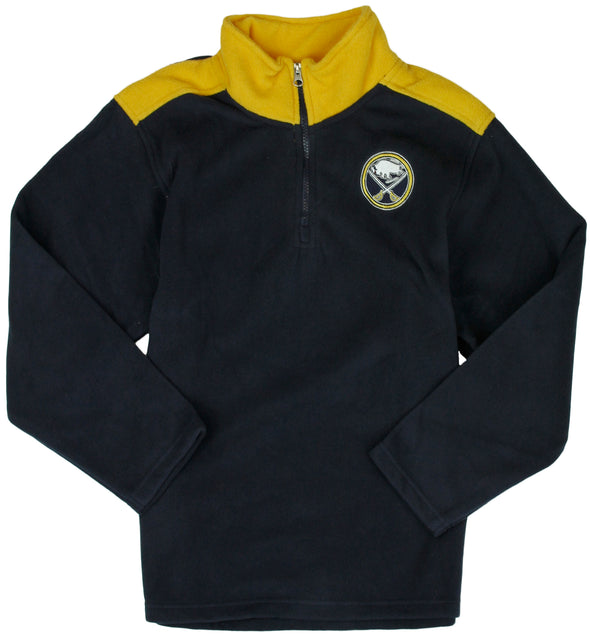 NHL Hockey Kids / Youth Buffalo Sabres Fleece Jacket - Navy Blue