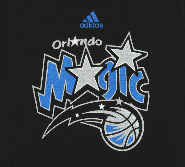 Adidas NBA Youth Girl's Orlando Magic Logo Tee, Black