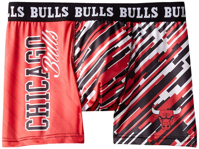 Klew Men's NBA Chicago Bulls Wordmark Underwear