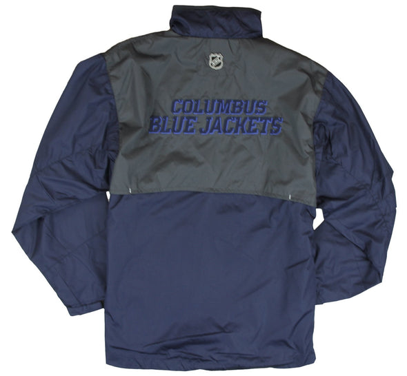 Reebok NHL Youth Columbus Blue Jackets Craftman Hot Jacket - Navy Blue
