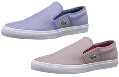 Lacoste Men's Gazon Sport 216 1 Slip On Fashion Sneaker, 2 Color Options