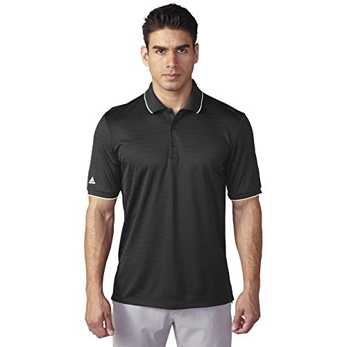 adidas Golf Men's Climacool Tipped Club Polo Shirt, 2 Colors