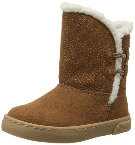 Stride Rite Little Girls Todders Kerri Cozy Casual Winter Boot, 2 Colors