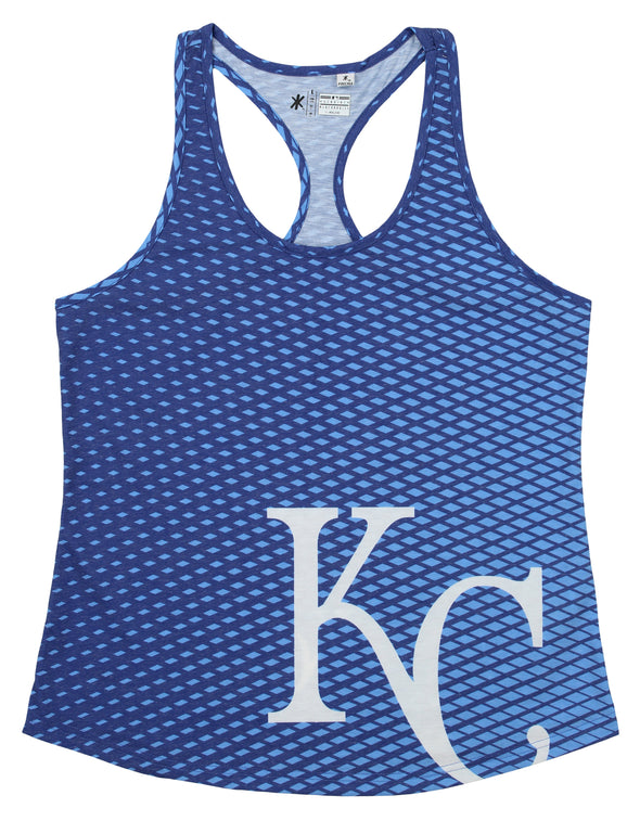 Forever Collectibles MLB Women's Kansas City Royals Diamond Racerback Tank