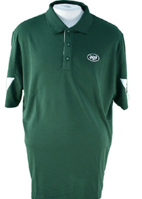 Reebok NFL New York Jets Team PlayDry Performance Polo Shirt, Green