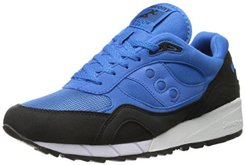 Saucony Originals Men's Shadow 6000 Classic Retro Style Sneaker Shoes, Blue/Black
