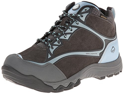 Wolverine Women's Fairmont Mid Safety Toe Hiker Boots, Brown