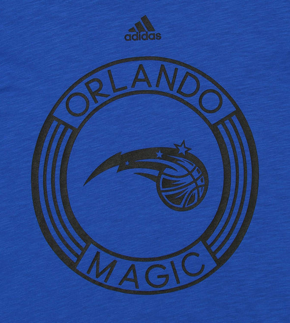 Adidas NBA Youth Orlando Magic 360 Short Sleeve Slub Tee, Blue