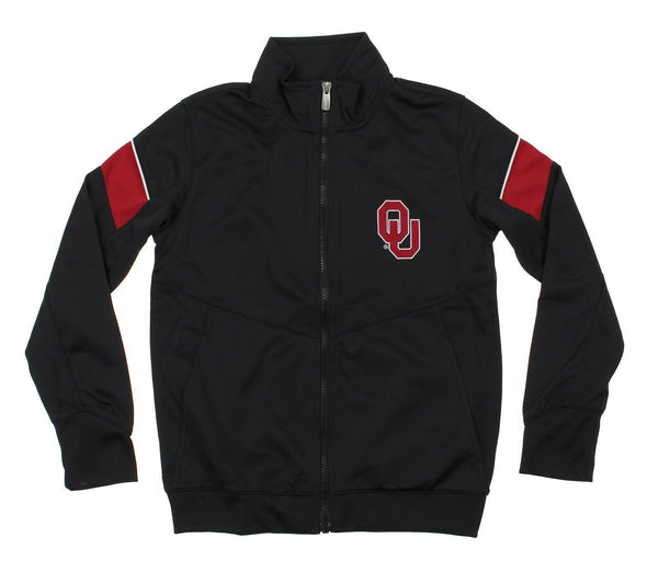 NCAA Youth Oklahoma Sooners Precision Zip Up Track Jacket